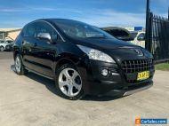 2012 Peugeot 3008 T8 Allure SUV 5dr Spts Auto 6sp 1.6T [MY12] Black Automatic A