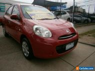 2012 Nissan Micra K13 ST Red Automatic 4sp A Hatchback