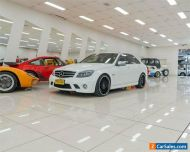 2011 Mercedes-Benz C63 W204 MY11 AMG White Automatic 7sp A Sedan