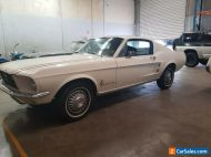 1967 FORD MUSTANG FASTBACK,MARTI REPORT,3 SPEED MANUAL,MANUAL BRAKES,VG BODY