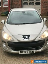 PEUGEOT 308 1.6 HDI 2009 AUTOMATIC 85559 MILES