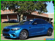 2019 BMW M Roadster & Coupe BMW M2 Competition Coupe Blue Twin Turbo Manual German Sunroof