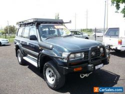 1995 Toyota Land Cruiser GXL (4x4) 80 Series HZJ80 4.2 Turbo Diesel 5spd Manual