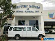 2003 Ford E-Series Van XL, CARFAX 1 OWNER, leather, 8-15 passenger + handicap lift
