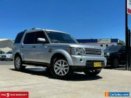 2010 Land Rover Discovery 4 Silver Automatic A Wagon