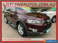 2012 Holden Captiva CG Series II 7 LX (4x4) Maroon Automatic 6sp A Wagon
