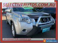 2013 Nissan X-Trail T31 Series 5 ST (4x4) Silver Manual 6sp M Wagon