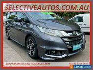 2015 Honda Odyssey RC MY15 VTi-L Silver Automatic A Wagon