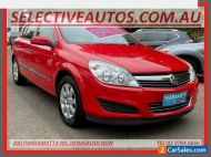2007 Holden Astra AH MY07 CD Red Automatic 4sp A Hatchback