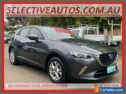 2018 Mazda CX-3 DK MY17.5 Maxx (FWD) Grey Automatic 6sp A Wagon