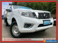 2015 Nissan Navara NP300 D23 RX (4x2) White Manual 6sp M Cab Chassis