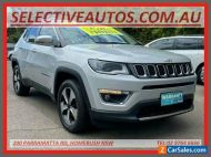 2018 Jeep Compass M6 MY18 Limited (4x4) Silver Automatic 9sp A Wagon
