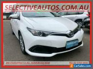 2015 Toyota Corolla ZRE182R Ascent White Automatic 7sp A Hatchback