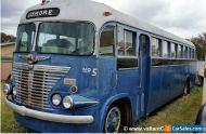 VINTAGE BUS, REO 1925-1960s OLDSmobile WHITE / Flxble CLIPPER? MACK, Motorhome?