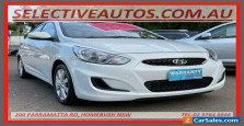 2018 Hyundai Accent RB6 MY19 Sport White Automatic 6sp A Sedan