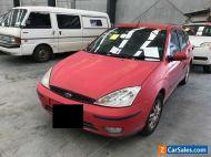 2005 Red Ford Focus Sedan