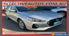 2019 Hyundai i30 PD2 MY19 Active Silver Automatic 6sp A Hatchback