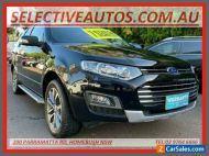 2014 Ford Territory SZ MK2 Titanium (RWD) Black Automatic 6sp A Wagon