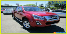 2018 Isuzu D-MAX TF MY18 LS-U HI-Ride (4x4) Red Automatic 6sp A