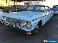 1963 MERCURY METEOR S33..260V8 ,AUTO..AIR CON, DASH CLOCK,CONSOLE,BUCKETS SEATS