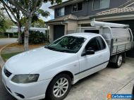 2006 Ford Falcon BF cab chassis ute LPG 4.0 automatic TOOLBOXES ARE NOT INCLUDED