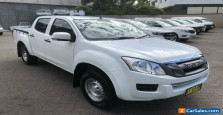 2015 Isuzu D-MAX TF MY15 SX HI-Ride (4x2) White 5 SP AUTOMATIC Crew Cab Utility