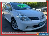 2012 Nissan Tiida C11 Series 4 TI White Automatic 4sp A Hatchback