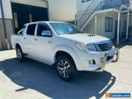2012 Toyota Hilux KUN26R SR5 White Automatic A Utility