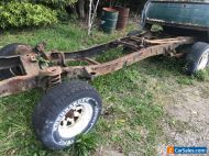 1976 f100 chassis and suspension