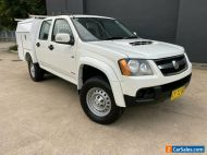 2008 Holden Colorado RC LX Utility Crew Cab 4dr Man 5sp 4x4 1028kg 3.0DT White