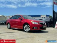 2012 Holden Cruze JH Series II CDX Sedan 4dr Spts Auto 6sp 1.8i [MY12] Red A