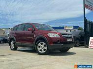 2010 Holden Captiva CG SX Wagon 7st 5dr Spts Auto 5sp AWD 3.2i [MY10] Maroon A
