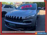 2014 Jeep Cherokee KL MY15 Limited (4x4) Grey Automatic 9sp A Wagon