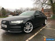 2015 Audi A6 Black Edition S-Tronic 2.0TDI Black Luna Leather Interior
