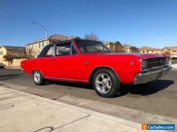 1968 Dodge Dart SPORT SPECIAL MACHING NUMBERS INLINE STRAIGHT 6CYL