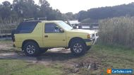 Holden Frontera Sport 4X4 Wagon Manual Transmission