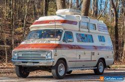 1977 Dodge B300 Tradesman Tradesman Coachmen Model Tee Camper Van