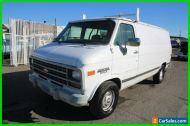 1993 Chevrolet G20 Van 3dr G20 Cargo Van