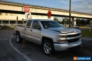 2016 Chevrolet Silverado 1500 4x2 Custom 4dr Double Cab 6.5 ft. SB