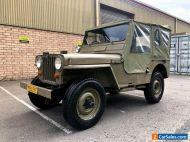 1951 Willys Jeep Overland CJ3A # MC M38 Army Military landrover mini moke austin