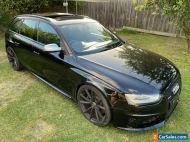 2013 AUDI B8 RS4 AVANT WAGON AUTO AWD V8 51,306ks, 1 owner, PROJECT CAR, DAMAGED