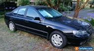 2006 BF Ford Falcon Sedan ( Dedicated Gas) . Can Deliver in Victoria.