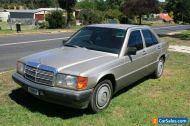 Mercedes Benz 190E W201 1989 car