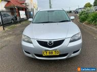 2004 Mazda 3 BK10F1 Neo Silver Manual M Sedan