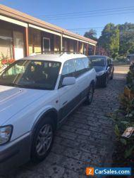 Subaru Outback 2000 white Station wagon