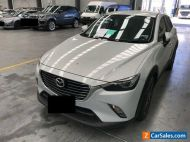 2015 White Mazda CX3 Wagon