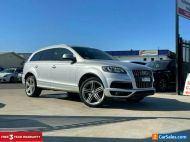 2014 Audi Q7 TDI Wagon 7st 5dr Tiptronic 8sp quattro 3.0DT [MY15] Silver A
