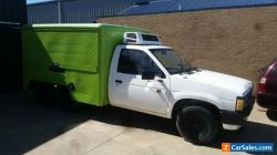 Nissan navara food van sold asis
