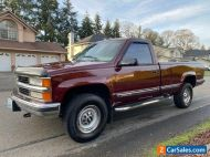 1997 Chevrolet C/K Pickup 2500 Chevrolet Silverado 2500 C/K 20 K-20 4x4 454