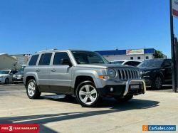 2015 Jeep Patriot MK Limited Wagon 5dr Spts Auto 6sp 4x4 2.4i [MY15] Silver A